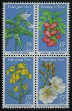 ESTADOS UNIDOS/USA 1979 MNH SC.1783/1786 Endangered Flora