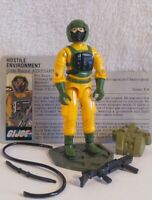 Vintage Hasbro GI Joe ARAH 1985 Airtight  Complete W/Gray V1 File Card  HK/NM+!