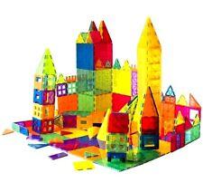 Magnet Building Tiles Magna Construction Blocks Puzzle 3D Cyilinder 143 pieces