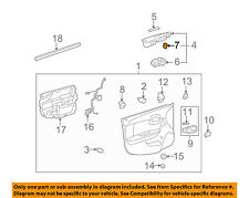 Chevrolet GM OEM 08-10 Malibu Front Door-Lock Switch 15835662