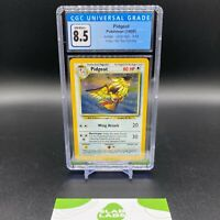 Pidgeot Jungle Holo Rare No Symbol Error 8/64, CGC 8.5 NM/Mint+ (PSA BGS)