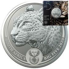 Südafrika - 5 Rand 2020 - Big Five Serie (4.) - Leopard - 1 Oz Silber ST