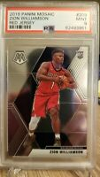 2019-20 Panini Mosaic Zion Williamson Variation Rookie RC PSA 9