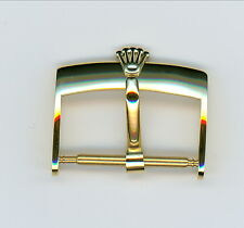 Leather Band buckle For Rolex 18 mm yellow gold in color