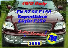 97 98 Expedition F150 Pickup Light F250 Billet Grille