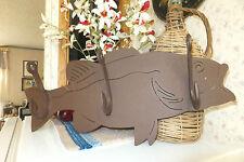 Metal Fish Coat Rack, A piece of art!