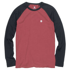 Element NEW Blunt Long Sleeve T-Shirt Port BNWT