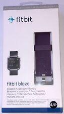 NEW SEALED OEM Fitbit Blaze Classic Accessory Band Plum Purple Size Small