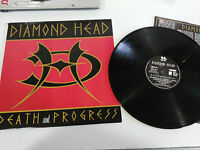 "DIAMOND HEAD DEATH  AND PROGRESS LP VINYL VINILO 12"" EU EDIT 1993 VG/VG - AG"