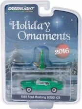 GREENLIGHT 2016 HOLIDAY ORNAMENTS 1969 FORD MUSTANG BOSS 429 CAR 40010-D