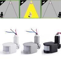 accueil sécurité extérieure détecteur de mouvement détecteur infrarouge mur led