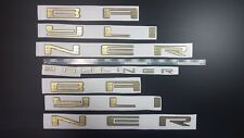 "BAYLINER Boats Emblem 55"" gold + FREE FAST delivery DHL express - stickers decal"