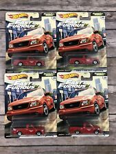 Lot 4 Hot Wheels Fast & Furious Ford F-150 SVT Lighting Motor City Muscle New