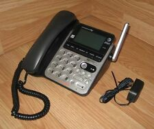 At&T (Cl84100) Black 1.9 Ghz Single Line Corded Phone System w/ Power Supply