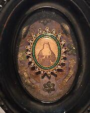 Ancien reliquaire Napoléon 3 Paray le monial, avec 4 reliques