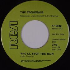 THE STONEMANS: Who'll Stop the Rain RCA Creedence Clearwater Cover 45 Folk Promo