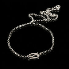 """Lotr Chain of Frodo Sterling Silver Authentic Weta 25"""" The One Ring Hobbit"""