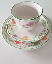 JOHNSON BROTHERS SUMMER DELIGHT TRIO...CUP SAUCER & PLATE