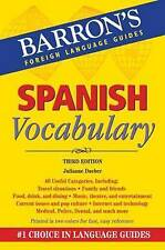 Mastering Spanish Vocabulary: Barron's Foreign Language Guides by Axel J....