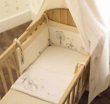 Babies R Us Organic Disney Winnie The Pooh Cot Cotbed Bumper Unisex Ex Condition