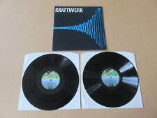 KRAFTWERK 2x LP RARE ORIGINAL UK VERTIGO SPACESHIP LABEL GATEFOLD SLEEVE 6641077
