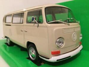 VW Bus T2 1972 Beige 1:24 Scale Welly 22472BE