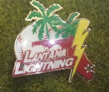 """Latana Lightning Cooperstown Little League 1 1/2"""" Pin Baseball"""