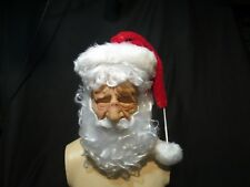 Babbo Natale Bianco Super Morbido Maschera Zagone Studios. UK stock, video clip. PRE ORDINE