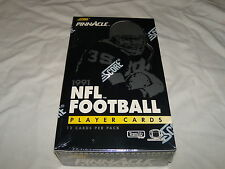 Pinnacle Premier Edition 1991 NFL Football Player cards - Sealed box