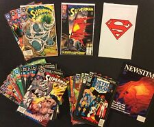 SUPERMAN 75 DC Comic Death 1st app DOOMSDAY Superman MOS #18 Funeral Friend lot