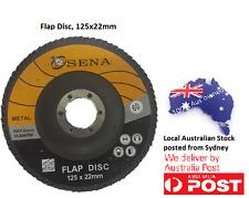 10PC Abrasive 125MM Metal Sanding Flap Discs Angle Grinder Wheels 60 Grits A0002