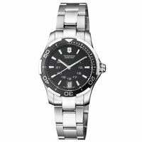 Victorinox Alliance Sport Quartz Movement Black Dial Ladies Watch 241305
