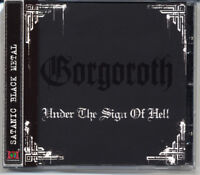 "Gorgoroth ""Under The Sign Of Hell"" 1997, CD jewel case + OBI"