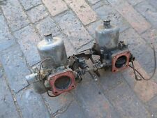 JAGUAR XJ6 SERIES 1 TWIN SU HS8 CARBURETTERS WITH LINKAGES