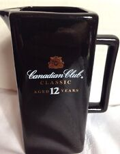 CANADIAN CLUB CLASSIC Black Bar Pitcher 15oz AGED 12 YEARS