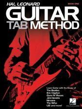 Hal Leonard Guitar Tab Method - Book One - Book Only - Guitar