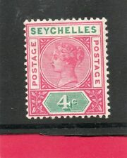 Royalty Victorian (1840-1901) Seychellois Stamps (Pre-1976)