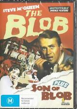 THE BLOB - PLUS - SON OF BLOB - STEVE MCQUEEN -  NEW DVD FREE LOCAL POST