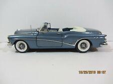 Danbury Mint - 1953 Buick Skylark Convertible  Blue  VGC  1:24 scale  (1019)