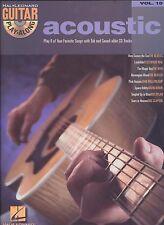 Acoustic Piano Vocal Guitar Vol.10 (2003, Paperback) Songbook TAB CD Hal Leonard