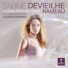 LE GRAND THÉÂTRE DE L'AMOUR(ARIEN AUS OPERN V  CD NEUF RAMEAU,JEAN-PHILIPPE