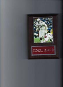 CONRAD DOBLER PLAQUE ST LOUIS CARDINALS FOOTBALL NFL