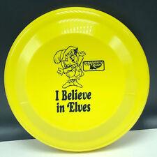 KEEBLER ELF FRISBEE DISC vintage cookie advertising elves toy I believe Yellow