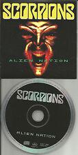 SCORPIONS Alien Nation w/ RARE EDIT 1993 USA CARD SLEEVE PROMO DJ CD single MINT