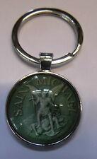 Schlüsselanhänger Sankt St. Michael Keychain Heiliger Erzengel x