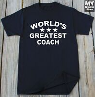 Funny Coach T Shirt Birthday Christmas Gifts for Coach