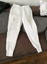 Air Jordan OVO Fleece Sweatpants White Nike Men's Pants 826740-100 Size M RARE