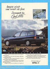 QUATTROR992-PUBBLICITA'/ADVERTISING-1992- OPEL ASTRA SW