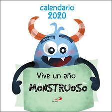 CALENDARIO PARED VIVE UN AÑO MONSTRUOSO 2020. ENVÍO URGENTE (ESPAÑA)