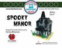 Exclusive Brick Loot Spooky Manor Haunted House set Tommy Williamson  100% LEGO